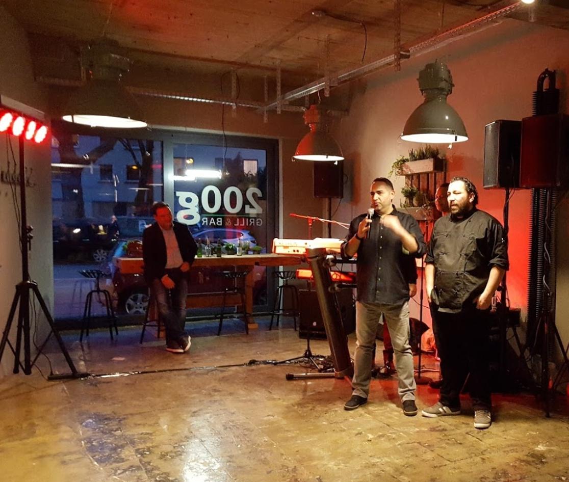 200g Grill & Bar Eröffnung