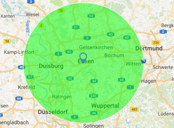 Standortanalyse Unternehmensberatung Essen