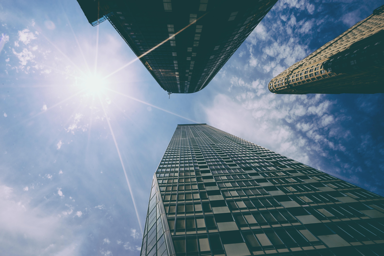 Perspektive - hoch hinaus