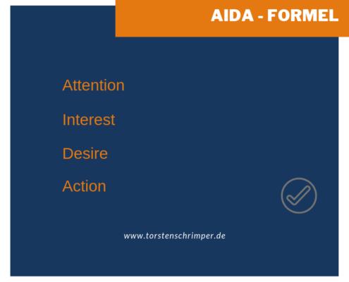 AIDA- Formel Unternehmensberatung Essen