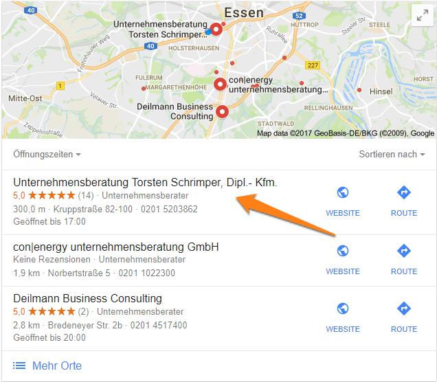 Bewertungen Mit Google My Business Leicht Gemacht