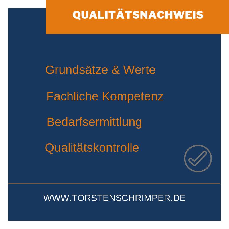 Qualitaetsnachweis